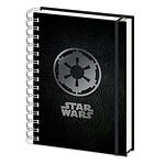 "Cahier A5 Star Wars ""Empire Symbol"""