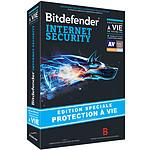 Bitdefender Internet Security édition spéciale protection à vie