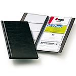 DURABLE Reliure VISIFIX pour cartes de visite capacité 96 cartes coloris noir