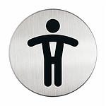 DURABLE Pictogramme rond symbole Hommes diamètre 83 mm