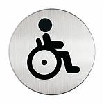 DURABLE Pictogramme rond symbole Handicapés diamètre 83 mm
