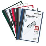DURABLE Bolsa de 5 carpetas DURACLIP 30 l capacidad original max. 30 hojas A4 colores surtidos