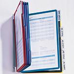 DURABLE Sistema de pantalla de pared VARIO WALL 10 bolsillos de color a juego