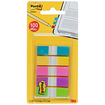 Post-it Index mini 100 marque-pages 12 x 44 mm assortis
