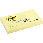 Post-it Bloc Z-notes 100 feuillets 76 x 127 mm Jaune