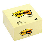 Post-it Bloc cube 450 feuillets 76 x 76 mm Néon Jaune