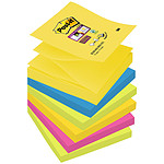 Post-it Bloc Super Sticky Z-notes 100 feuillets 76 x 76 mm