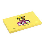 "Post-it Bloc ""Super Sticky"" 76 x 127 mm Jaune"