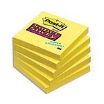 "Post-it Bloque  ""Super Sticky"" 76 x 76 mm Amarillo"