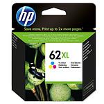 HP 62XL Cyan, Magenta, Jaune (C2P07AE)