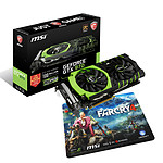 MSI GeForce GTX 970 GAMING 100ME + Tapis de souris gaming Farcry 4