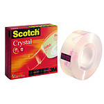Scotch Crystal 600 19 mm x 33 m Transparent
