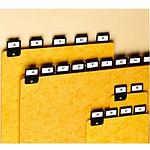 Rexel ValRex lot de 25 intercalaires A5 portrait  avec onglets métalliques