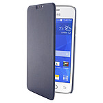 Swiss Charger Etui Folio Slim Bleu Samsung Galaxy Ace 4