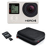 GoPro HERO 4 : Black Edition + XSories Capxule + Kingston microSDHC 32 Go