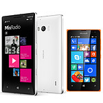 Nokia Lumia 930 Blanc + Lumia 435 Dual SIM Orange