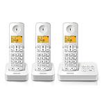 Philips D2153W/FR Trio Blanc
