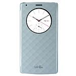 LG Etui Quick Circle II Snap On Bleu LG G4