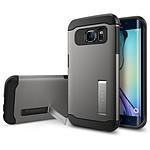 Spigen Case Slim Armor Gun Metal Samsung Galaxy S6 Edge