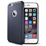 Spigen Case Leather Fit Bleu iPhone 6/6s
