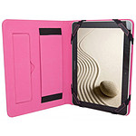 Urban Factory Folio Universel Rose pour tablettes 10.1""