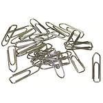 Clips de acero galvanizado 30 mm (caja de 100 unidades)