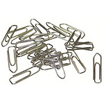 Clips de acero galvanizado 30 mm (caja de 1000 unidades)