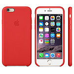 Apple Coque en cuir Rouge iPhone 6