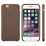 Apple Coque en cuir Marron iPhone 6