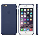 Apple Coque en cuir Bleu nuit iPhone 6 Plus