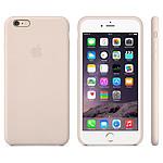 Apple Coque en cuir Rose poudré Apple iPhone 6 Plus