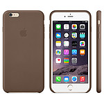 Apple Coque en cuir Marron Apple iPhone 6 Plus