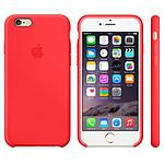 Apple Coque en silicone Rouge iPhone 6