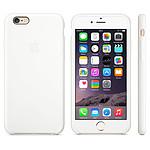 Apple Coque en silicone iPhone 6 - Blanc