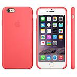Apple Coque en silicone Rose iPhone 6