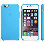 Apple Coque en silicone Bleu iPhone 6