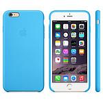 Apple Coque en silicone Bleu Apple iPhone 6 Plus