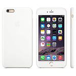 Apple Coque en silicone Blanc Apple iPhone 6 Plus