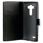 xqisit Etui Folio Wallet Slim negro LG G4