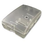 Multicomp boitier pour Raspberry Pi 2 Model B / Pi Model B+ (transparent)