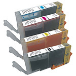 Multipack cartouches compatibles Canon CLI-551 XL (cyan, magenta, jaune et noir)