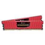 Corsair Vengeance Low Profile Series 8 Go (2 x 4 Go) DDR3 1600 MHz CL9 Rouge
