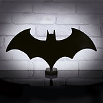 Batman - Lampe d'ambiance USB à LED (Batsignal)