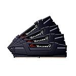 G.Skill RipJaws 5 Series Noir 64 Go (4x 16 Go) DDR4 3000 MHz CL14