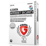 G Data Internet Security Jubilé Anniversaire 30 ans - Licence 1 an 3 postes