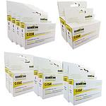 Megapack cartouches compatibles Canon PGI-525/CLI-526 (Cyan, magenta, jaune et noir)