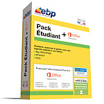 EBP Pack Etudiant 2016 + Microsoft Office Professionnel Plus 2013