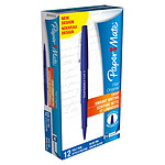 Paper Mate Flair Original Bleu x 12