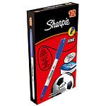 Sharpie Fine Bleu x 12