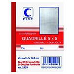Elve Cuaderno Manifold 50 hojas con duplicado 14 x 10.5 cm